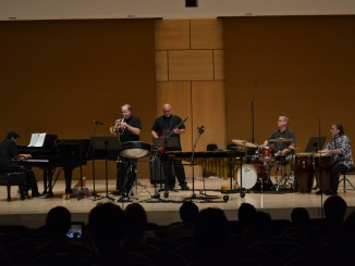 The concert was centered on the genre of Latin jazz pieces. (Rachel Keslosky/The Snapper)