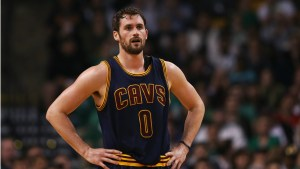 Kevin Love rumored to be later traded to the Celtics.