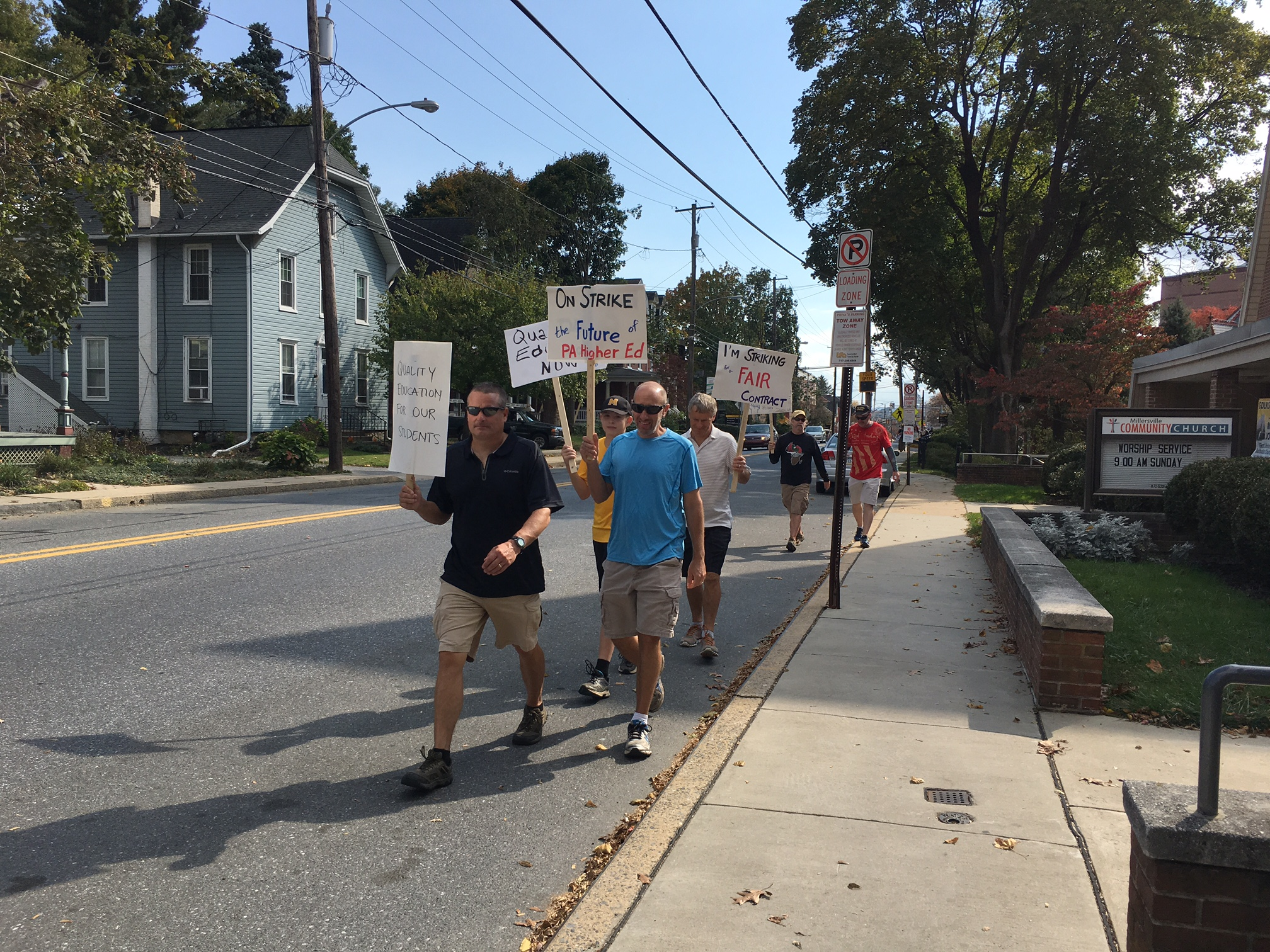 APSCUF ends strike, orders faculty to leave picket lines