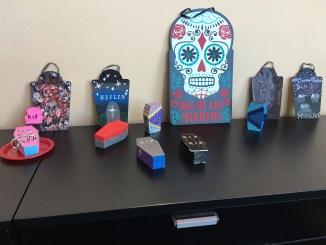 Dia de los Muertos display is located in the SMC Atrium (Taylor Cole/Snapper)