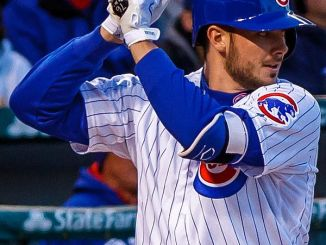 Reigning NL MVP Kris Bryant looks to help the Cubs repeat at World Series' Champions. (Photo courtesy of Wikimedia).