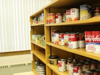 The Campus Cupboard is one option for students who are having difficulty finding their next meal. Photo Courtesy of Julie Florek.