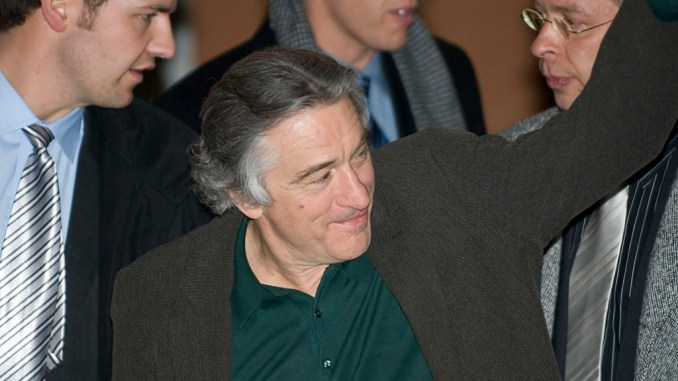Robert De Niro and vaccines