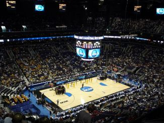 College basketball's biggest stage never disappoints fans with great games and epic moments. (Photo Courtesy of Wikimedia)