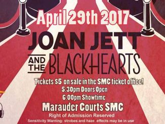 Tickets are on sale now at the SMC ticket office across from the Galley. (Photo courtesy of Marauder Music Productions)