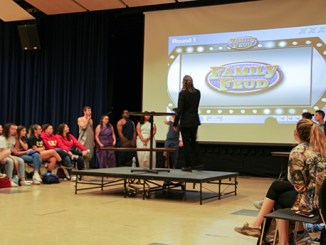 One of the events held for Greek Week was Family Feud. Julia M. Snyder/Snapper