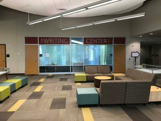 The Writing Center has recently reopened in McNairy Library. Photo courtesy of Millersville University