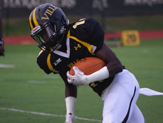 The Marauders were able to take the lead thanks to Tony Staffieri. Nii Kotei Nikoi only registered one catch but it was caught for a 3-yard touchdown. Courtesy of MU Athletics