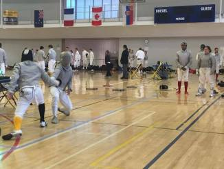 The Millersville Fencing Guild travled to Philadelphia to take part in an all day fencing event. Ten different universities, including Millersville, were invited to attend.