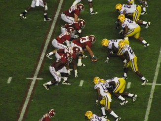 Alabama has two signature wins, one against the talented No. 17 LSU Tigers. (Photo Courtesy  of Wikimedia).