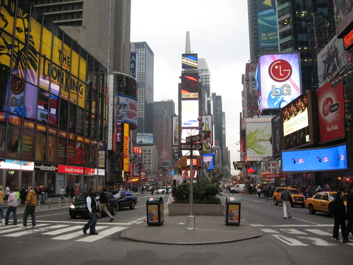 NYC is a grand idea for any trip. Photo courtesy of Wikimedia.