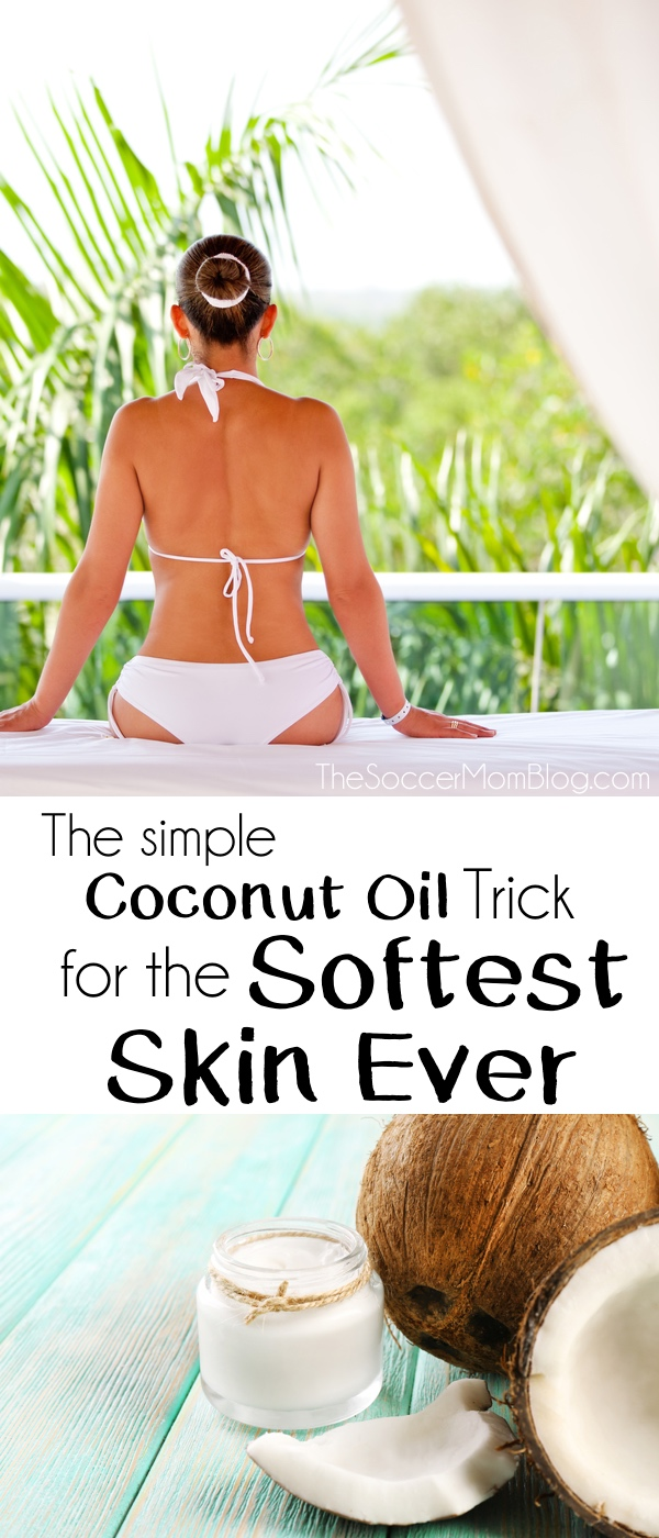 How to get the softest skin ever with coconut oil the for Can i use coconut oil on my tattoo