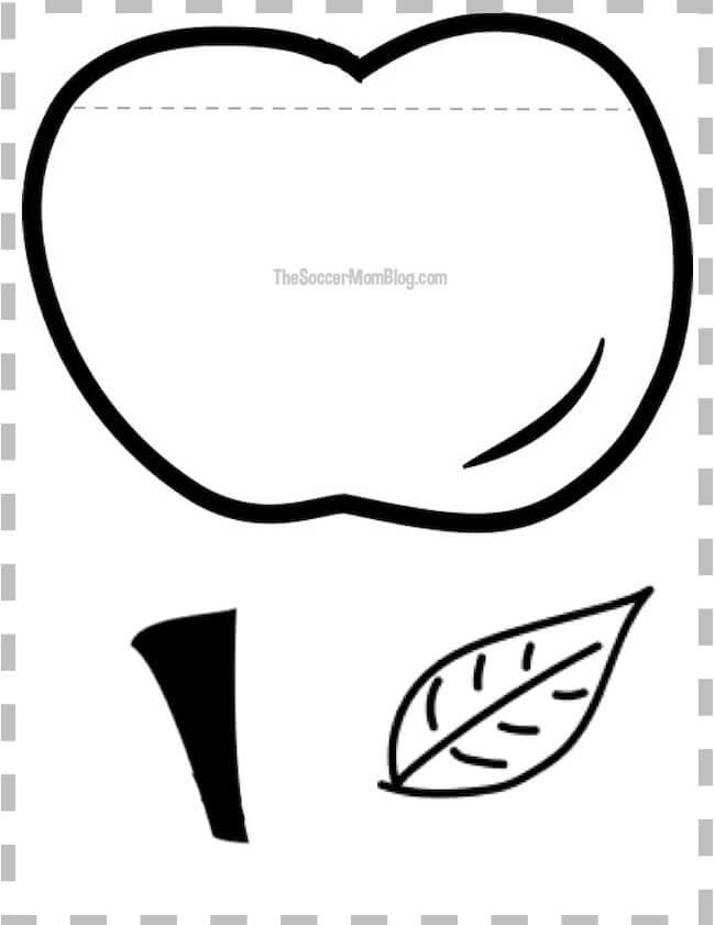 Printable Apple Pattern  \