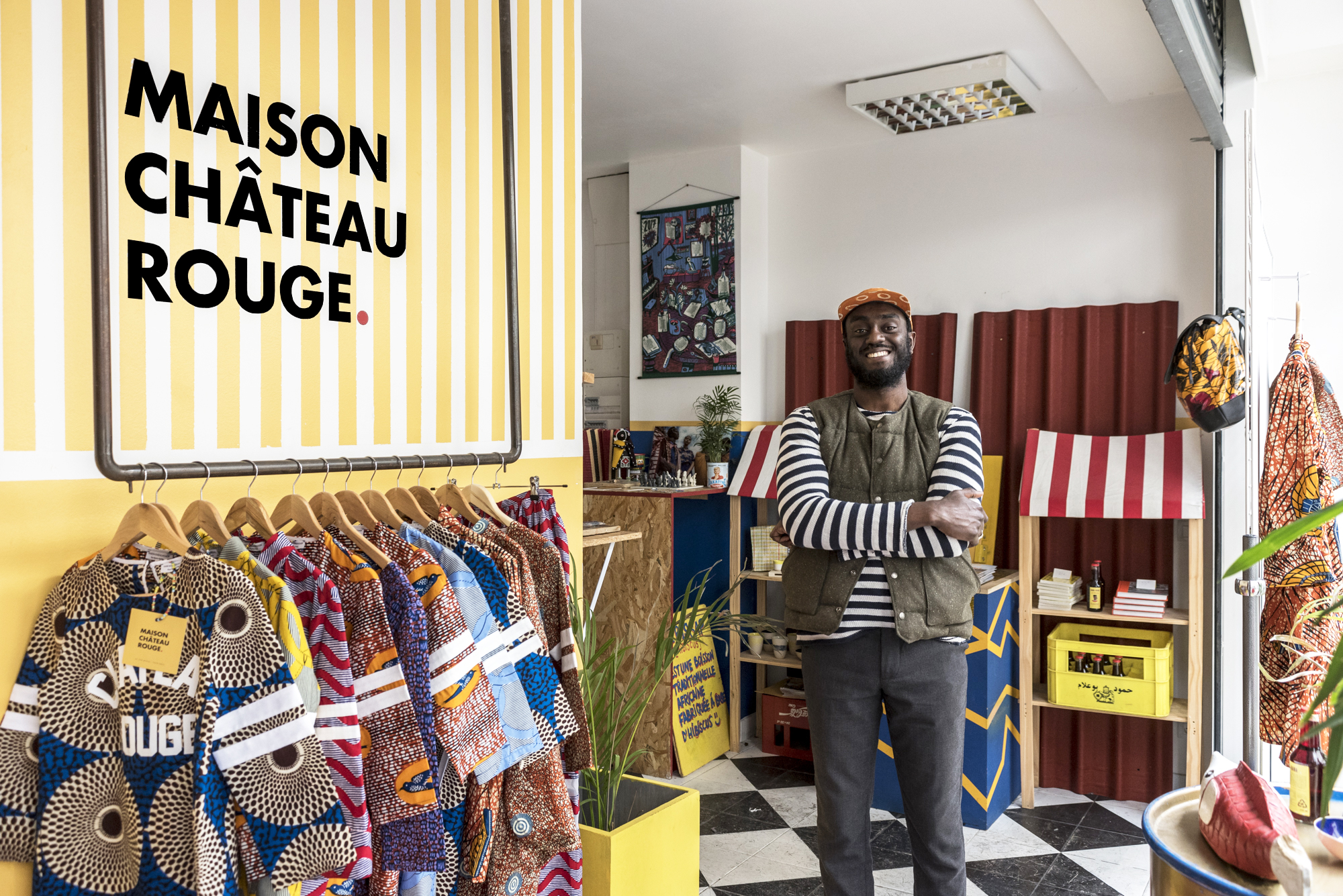 Deco Maison Usa Maison Château Rouge The World Of Youssouf Fofana The Socialite