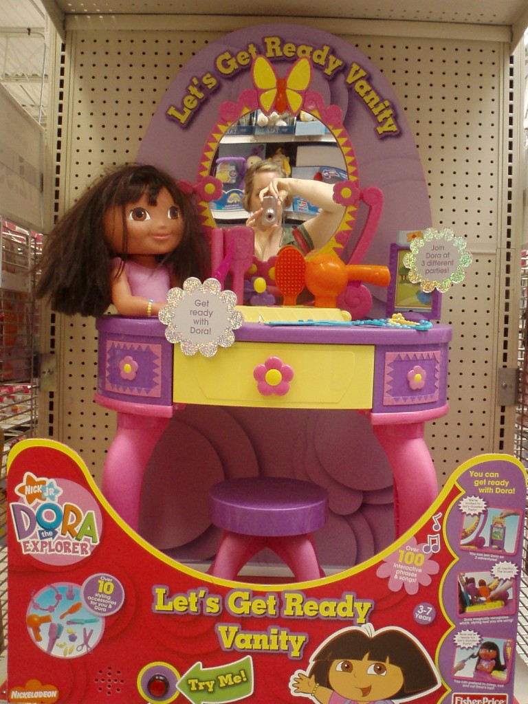 Baby Doll Stroller Toys R Us Dora The Explorer's Makeover Sociological Images