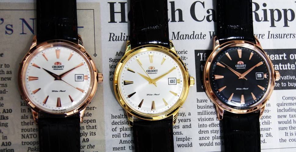 Orient Watches Luxe For Less- Orient Bambino In Rose Gold 2 | The Monsieur