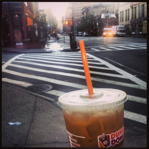 Why do I find it so entertaining to take pictures of coffee when I walk around NYC?