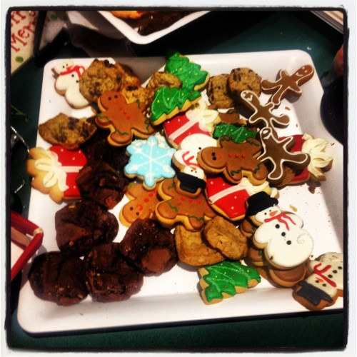 Apparently cookies are kind of a big deal around the holidays. I'll eat them, but I won't bake them!