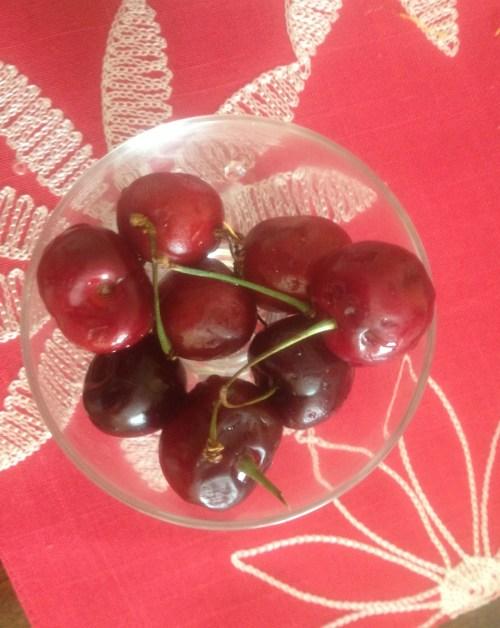mmmm....cherries!