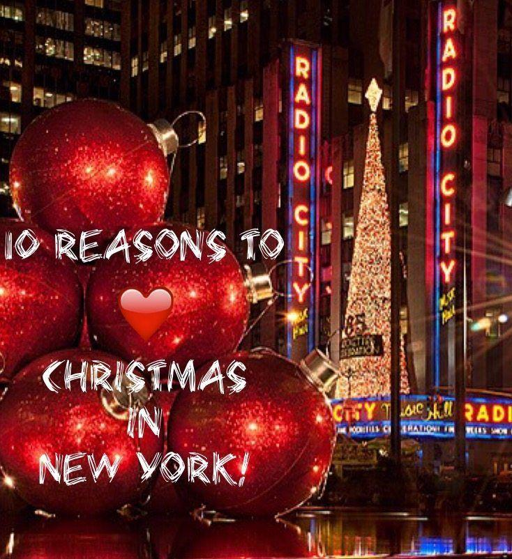 10 Reasons to Love Christmas in New York! - The Sophisticated Life
