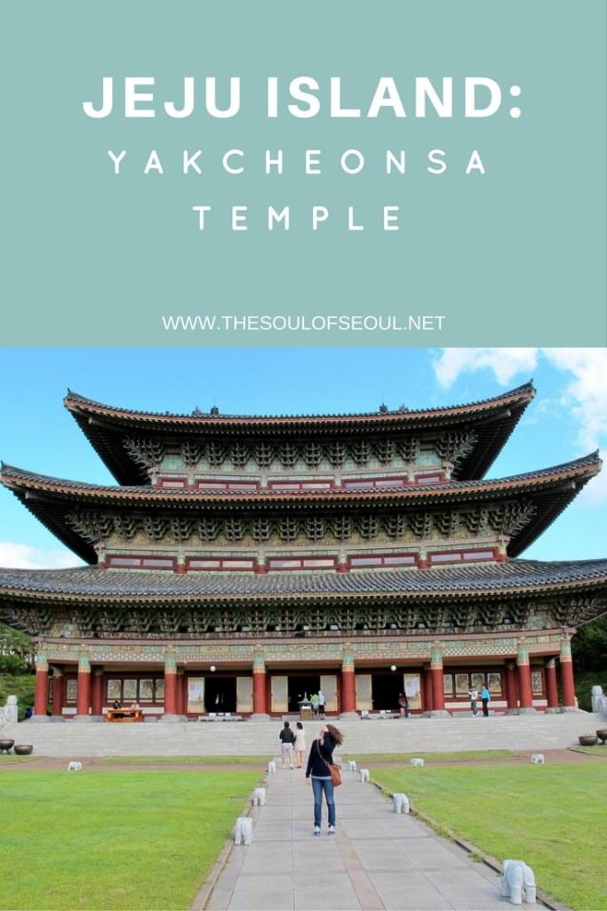 Jeju Island, Korea: Yakcheonsa Buddhist Temple