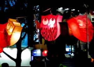 Seoul, Korea: Lotus Lantern Festival, owls