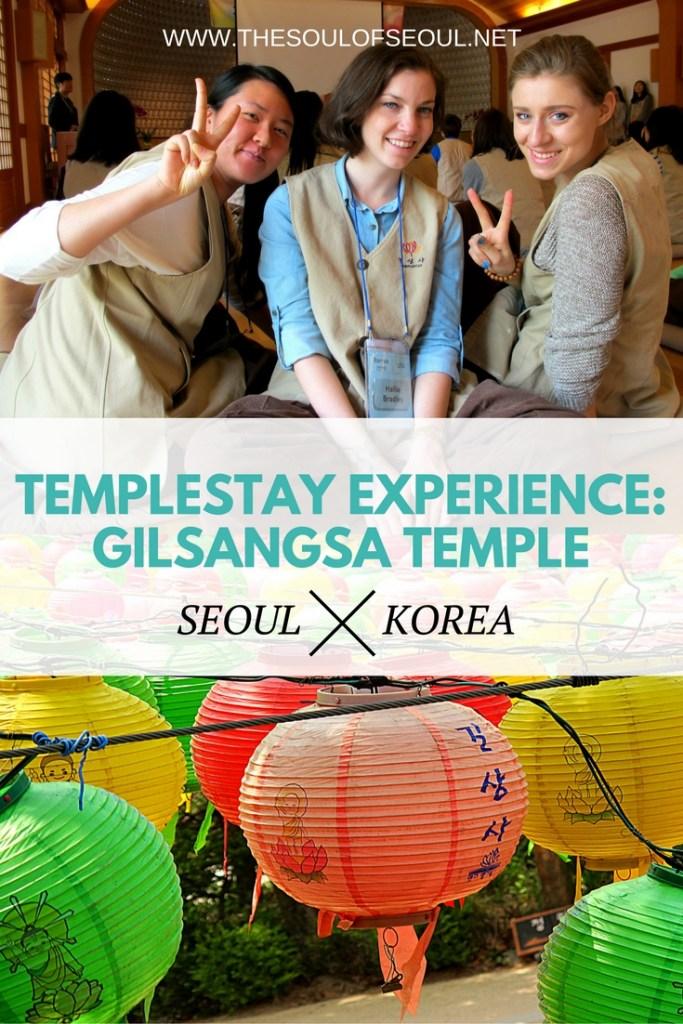Templestay Experience Gilsangsa Temple, Seoul, Korea