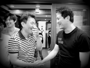 Sung Nam Moon with Woong In Jung