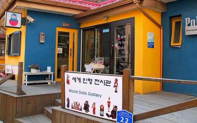 Pole Pole, Hongdae, Seoul, Korea, painting owls