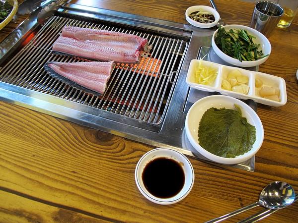 Korean eating: Jangeo, Eel
