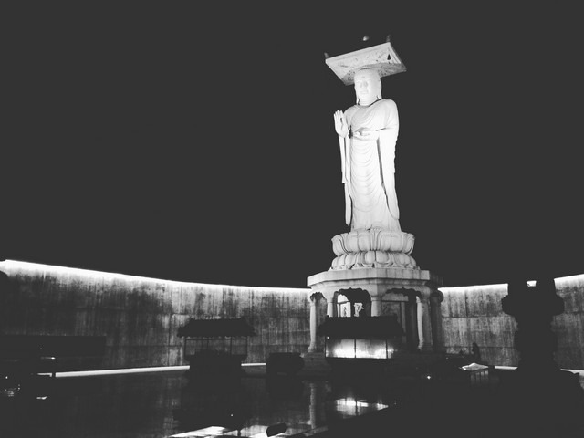 Bongeunsa Temple: In The Light Of The Night