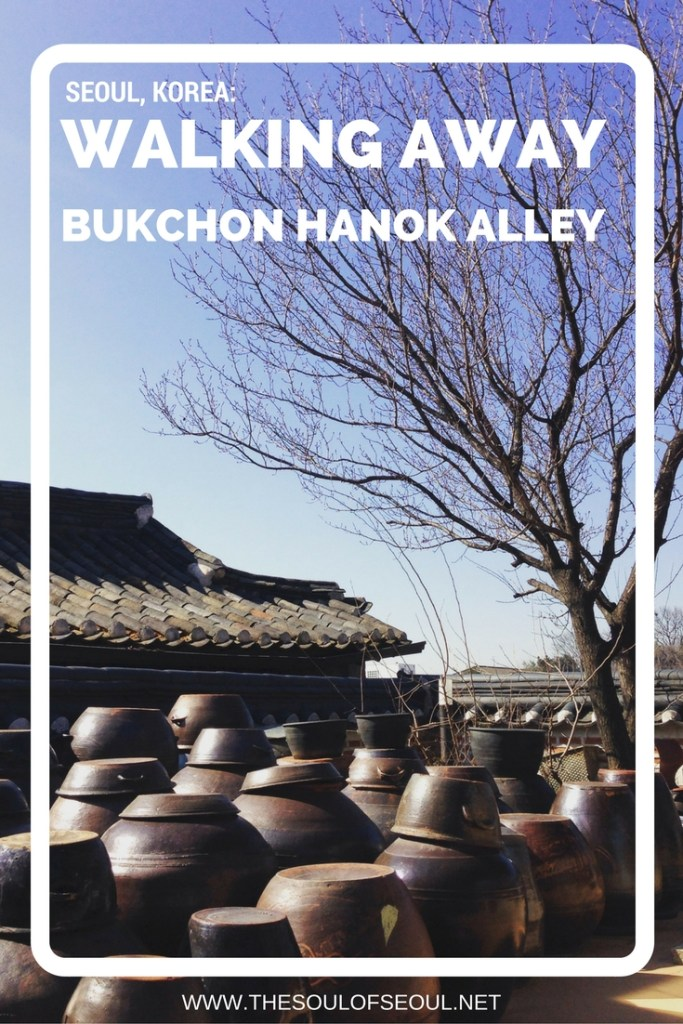 Walking Away From The Bukchon Hanok Alley: The alleys of the Bukchon Hanok Alley offer some great views outside of the most popular strip of traditional Korean homes. Hidden mural alley and old Korean homes to find in Seoul, South Korea. Off the very beaten path.