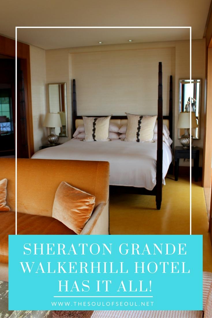 Sheraton Grande Walkerhill Hotel Has It All, Seoul, Korea