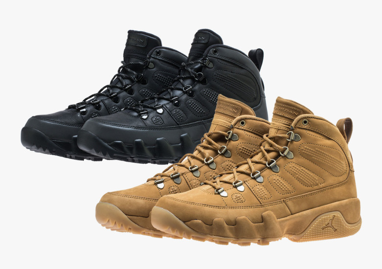 The Air Jordan 9 Boot Returns In Two Colorways For Fall