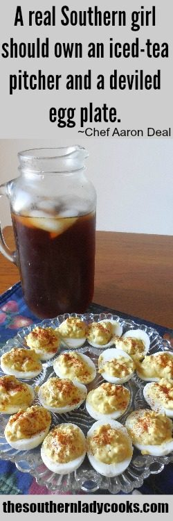 a-real-southern-girl-should-own-an-iced-tea-pitcher-and-a-deviled-egg-plate