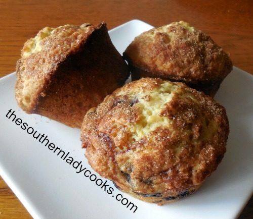 Orange Blueberry Muffins2