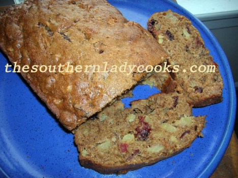 Apple Cranberry Bread - Copy