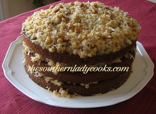 German Chocolate Cake - TSLC