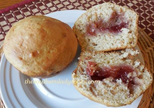 ... 11, 2014 by The Southern Lady in Peanut Butter and Jelly Muffins