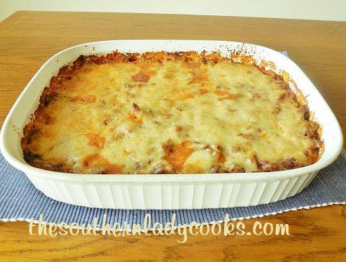 Baked Spaghetti - TSLC