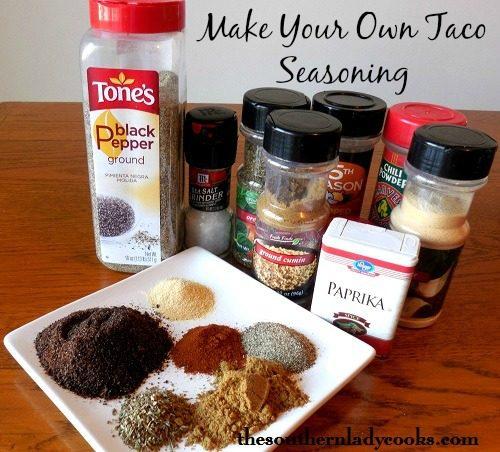 Make Your Own Taco Seasoning3