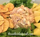 TUNA SALAD WITH PINEAPPLE – LIGHT RECIPE