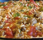 UNSTUFFED GREEN PEPPER SKILLET