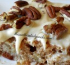 APPLE SPICE SHEET CAKE WITH BROWN SUGAR CREAM CHEESE FROSTING