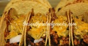QUICK AND EASY BAKED TACOS
