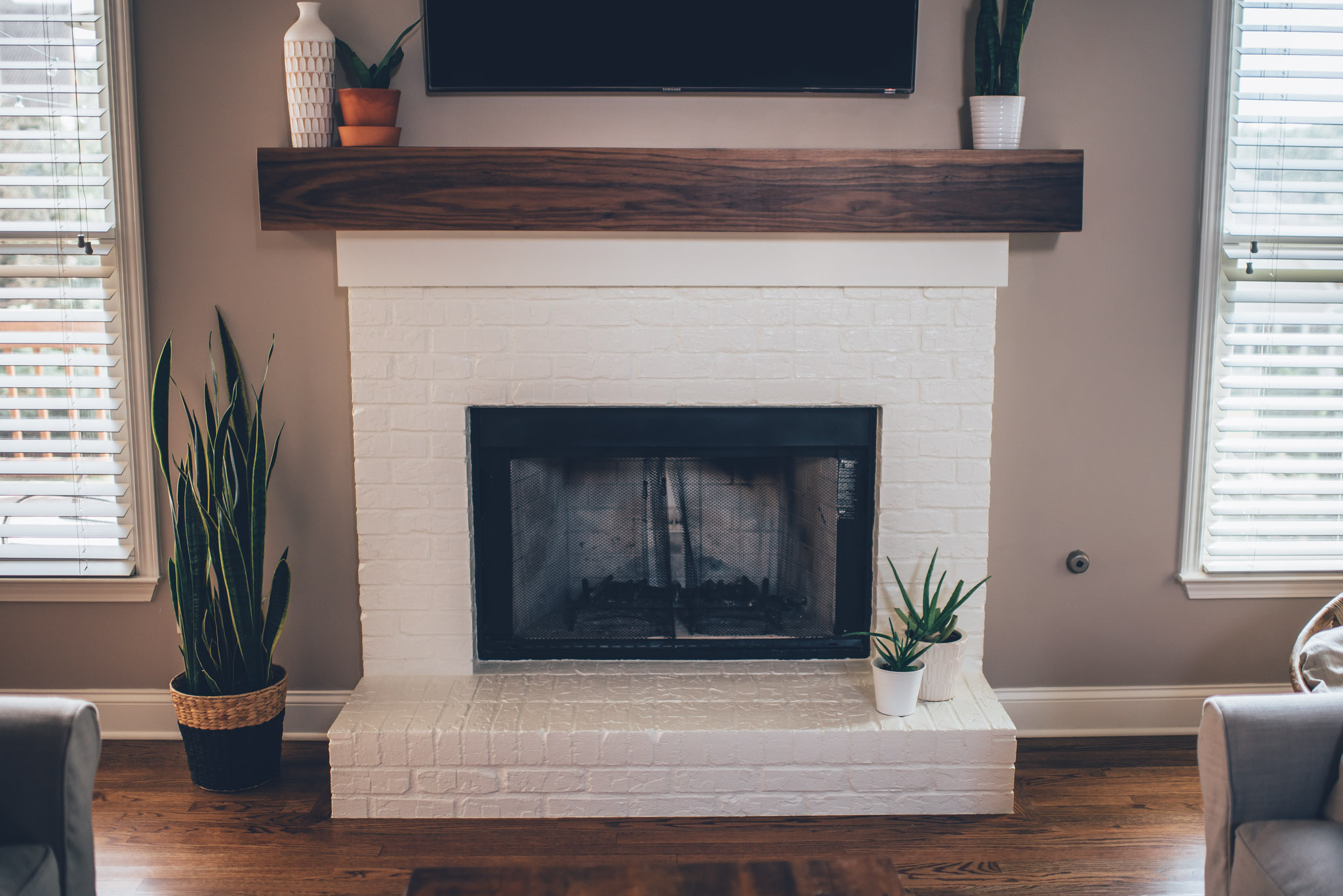 Mantel Kits For Brick Fireplace Mantel Decorating Ideas For Brick Fireplace