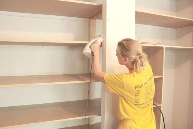 Easy Diy Wall To Wall Closet