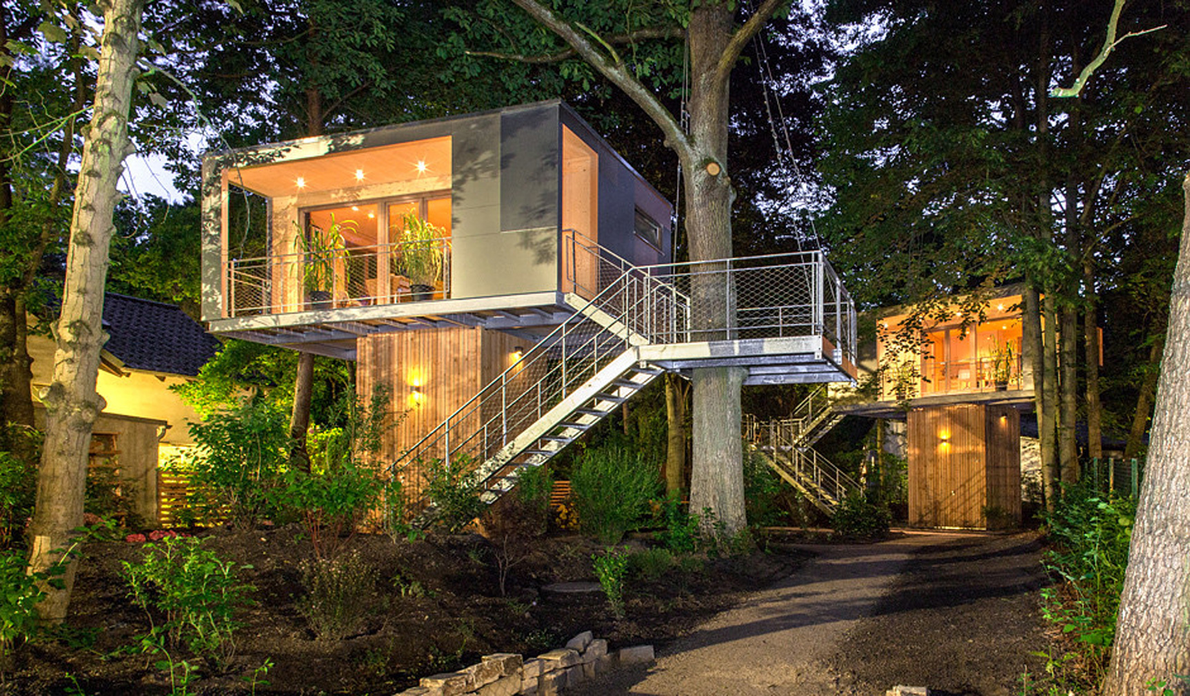 Urban Treehouse Berlin 7 Spectacular Treehouses To Stay In This Summer The Spaces