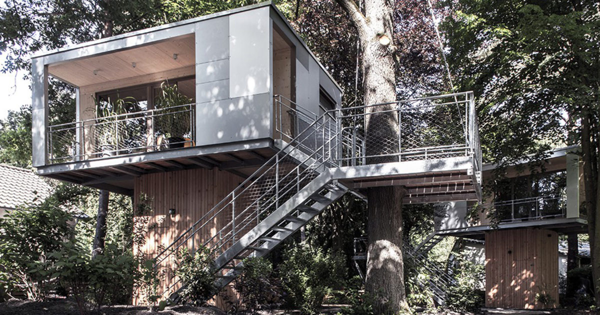 Urban Treehouse Berlin 7 Spectacular Treehouses To Stay In This Summer - The Spaces