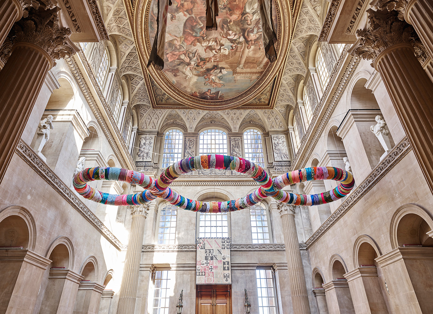 Arte Povera Venus Michelangelo Pistoletto Brings His Rag Sculptures To Blenheim Palace